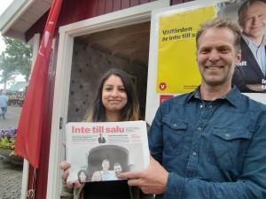Nooshi och Fredrik: Inte till salu!